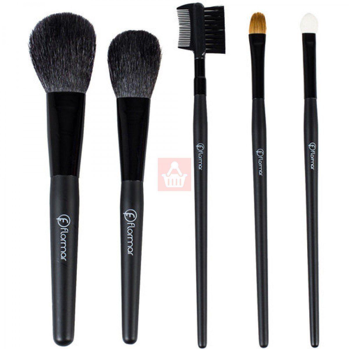 Flormar - 5 Pieces Makeup Brush Set