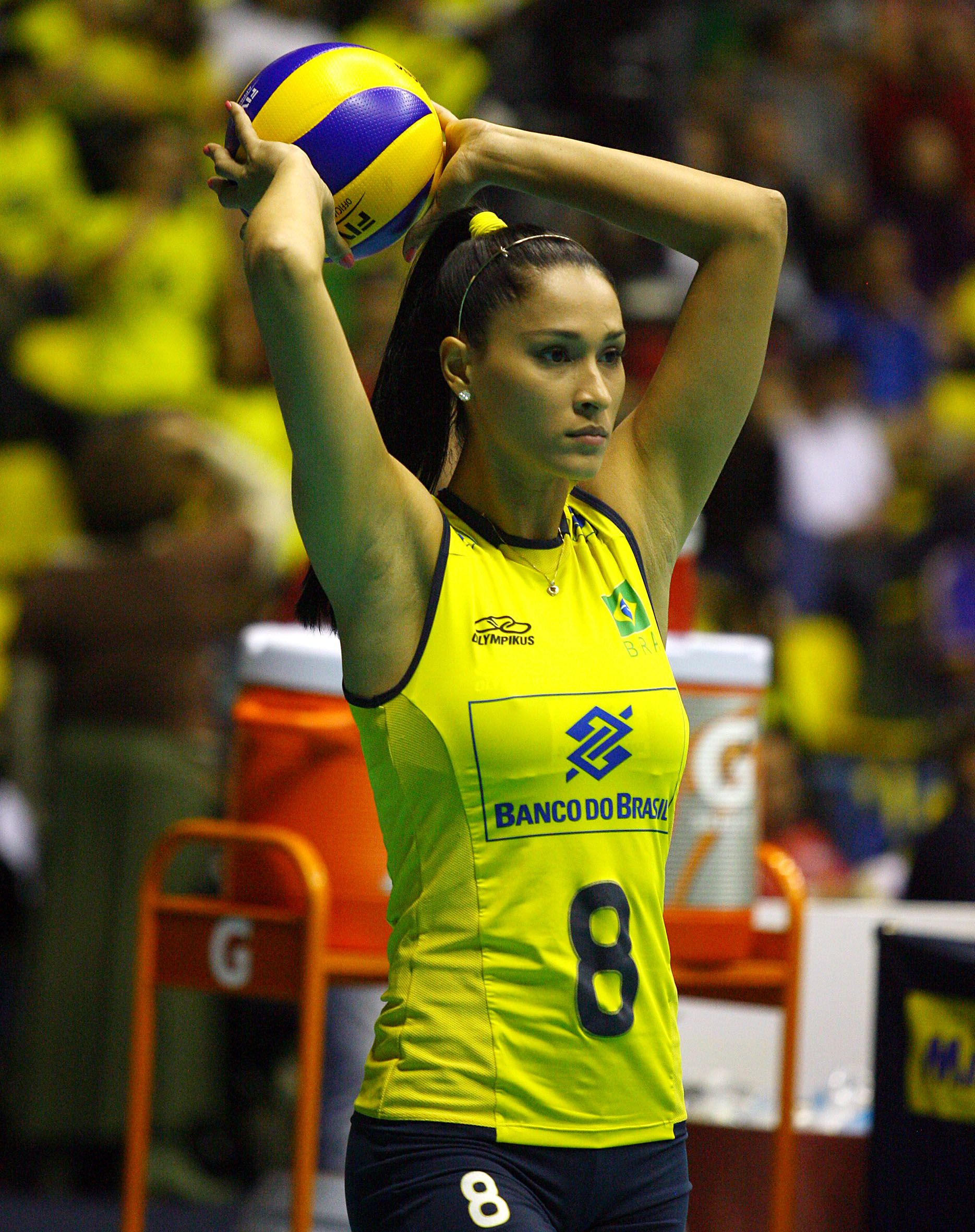 Pin On Jaqueline Carvalho Volleyball