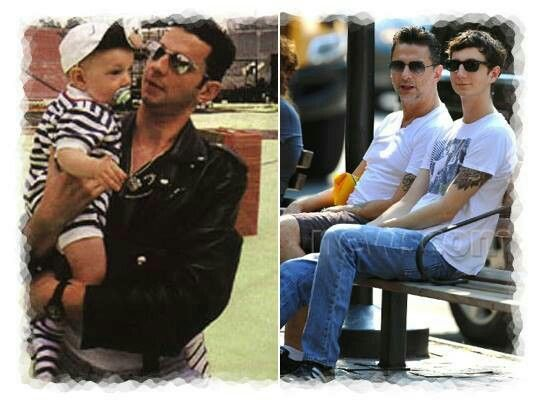 Dave Gahan's child.   Dave gahan, Depeche mode, Love me forever