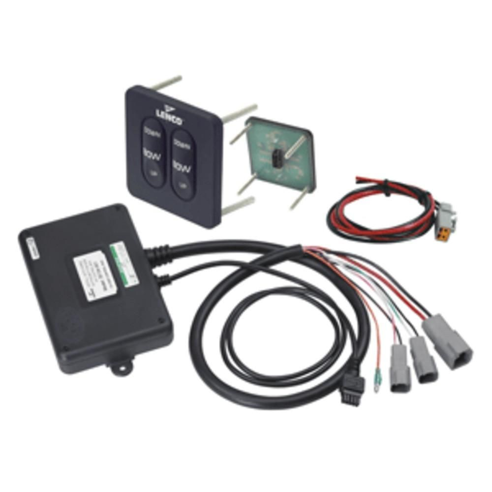 lenco tactile trim tab switch kit standard standard solid state tactile switch kits with retractor feature 15069 001 124ssr for 12 volt single actuator  [ 1000 x 1000 Pixel ]