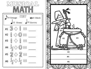 Music coloring pages 16 halloween music coloring sheets for Halloween coloring pages middle school