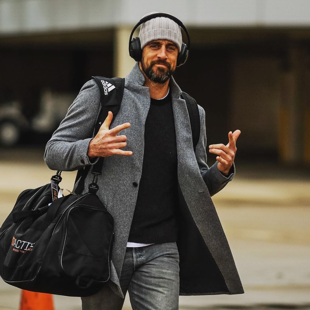 Pin By Kingsley Gabriel On My Style Aaron Rodgers National Football League Mens Outfits