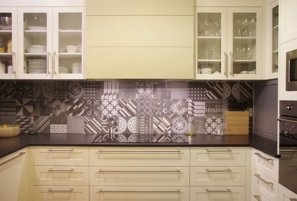 Kitchen Tiles Geelong kitchen in a flat designedffwd architects at barcelona. mutina