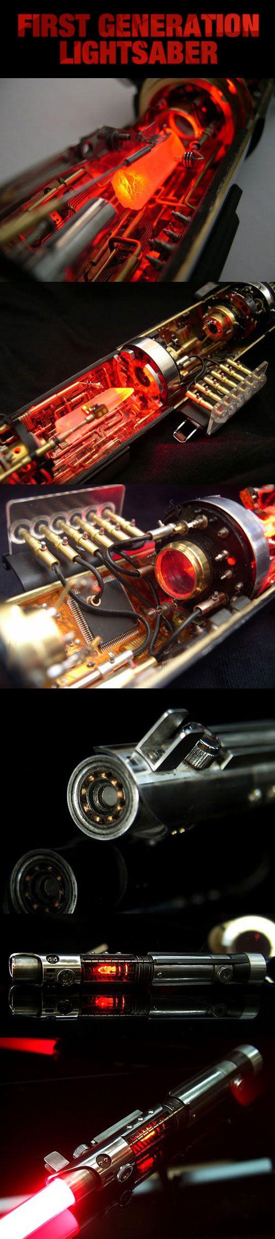 Master Replicas Star Wars Luke Skywalker ANH Ultimate FX ... |Prototype Lightsaber