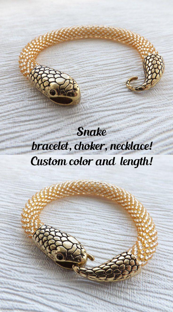 Snake bracelet snake jewelry ouroboros bracelet gold bracelets for