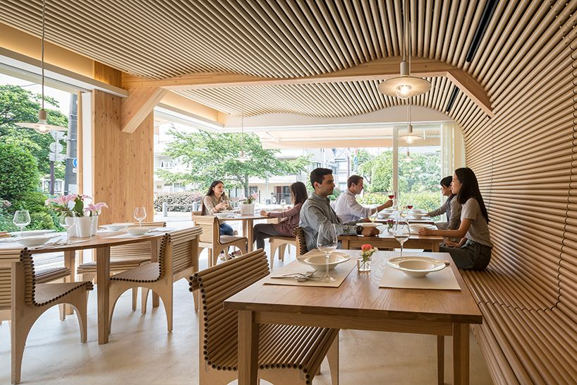 Shigeru Ban Completes Vin Sante Restaurant In Tokyo Japanese