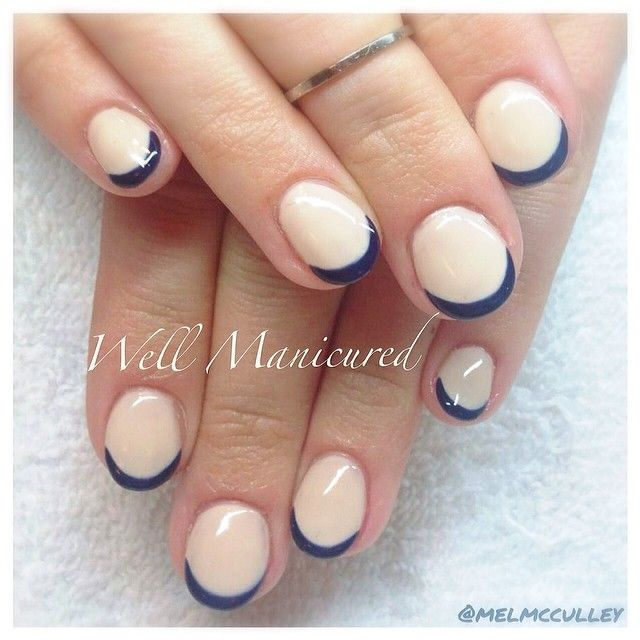 #wellmanicured #nails #gelish Gel colors: Need a Tan