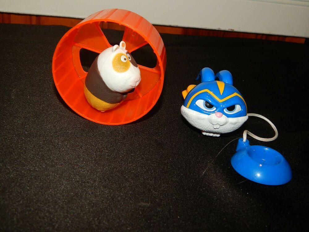 Mcdonalds Secret Life Of Pets 2 Figure Toys Lot Wheelin Norman