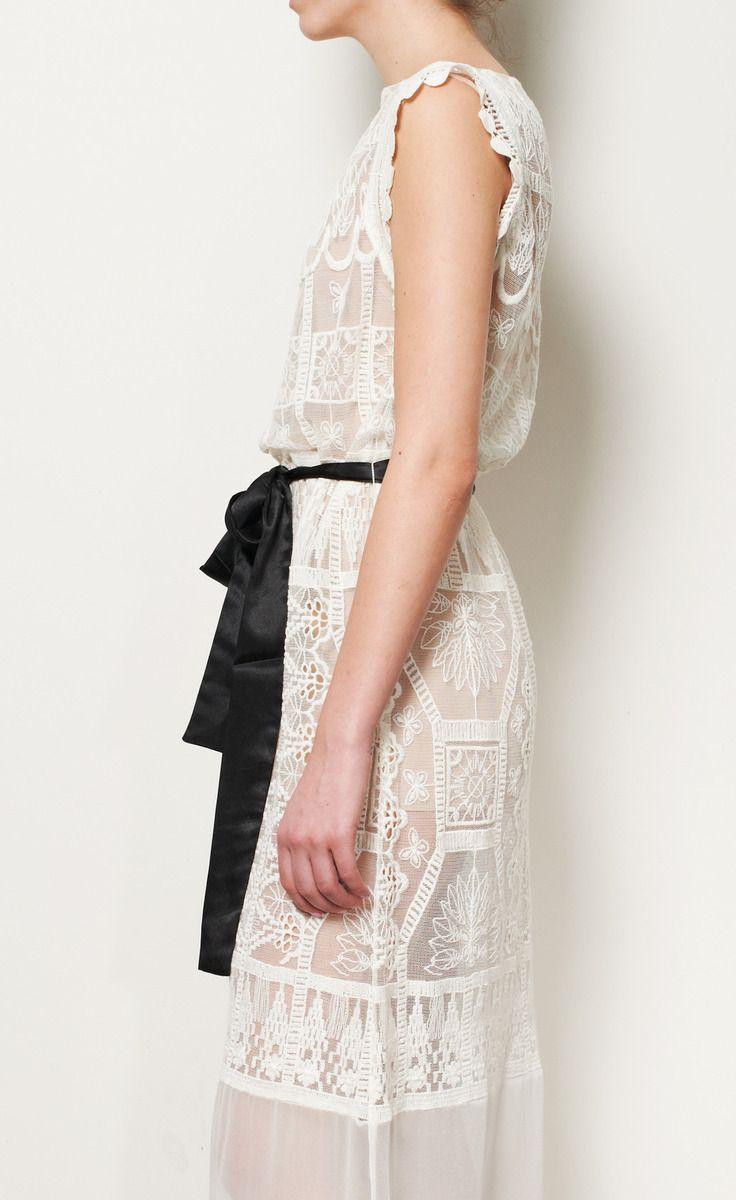 Miguelina white lace dress i got no money but i want you so