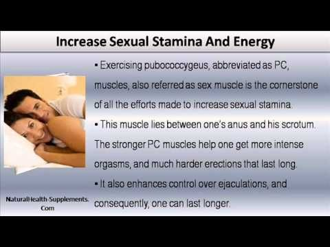 How to increase long sex