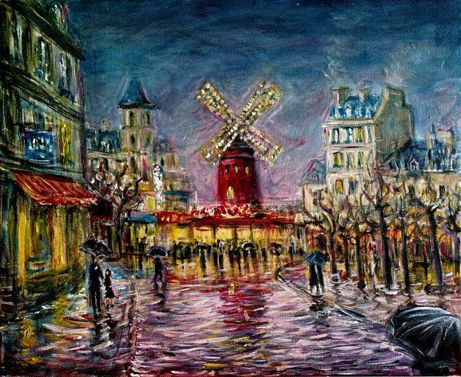 moulin rouge painting | Moulin Rouge
