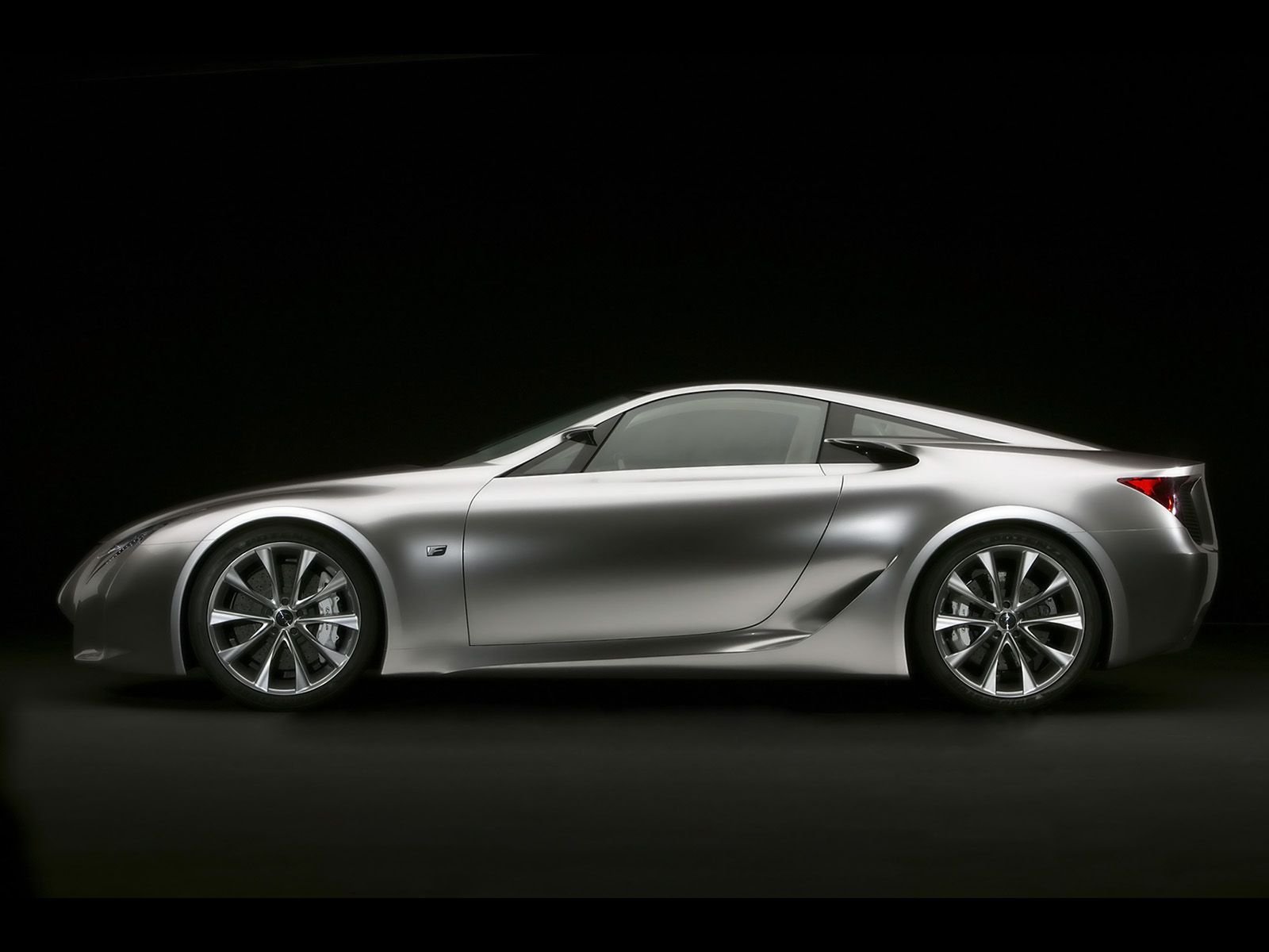 Wonderful 2007 Lexus LF A Sports Car Concept   Side   1600x1200   Wallpaper