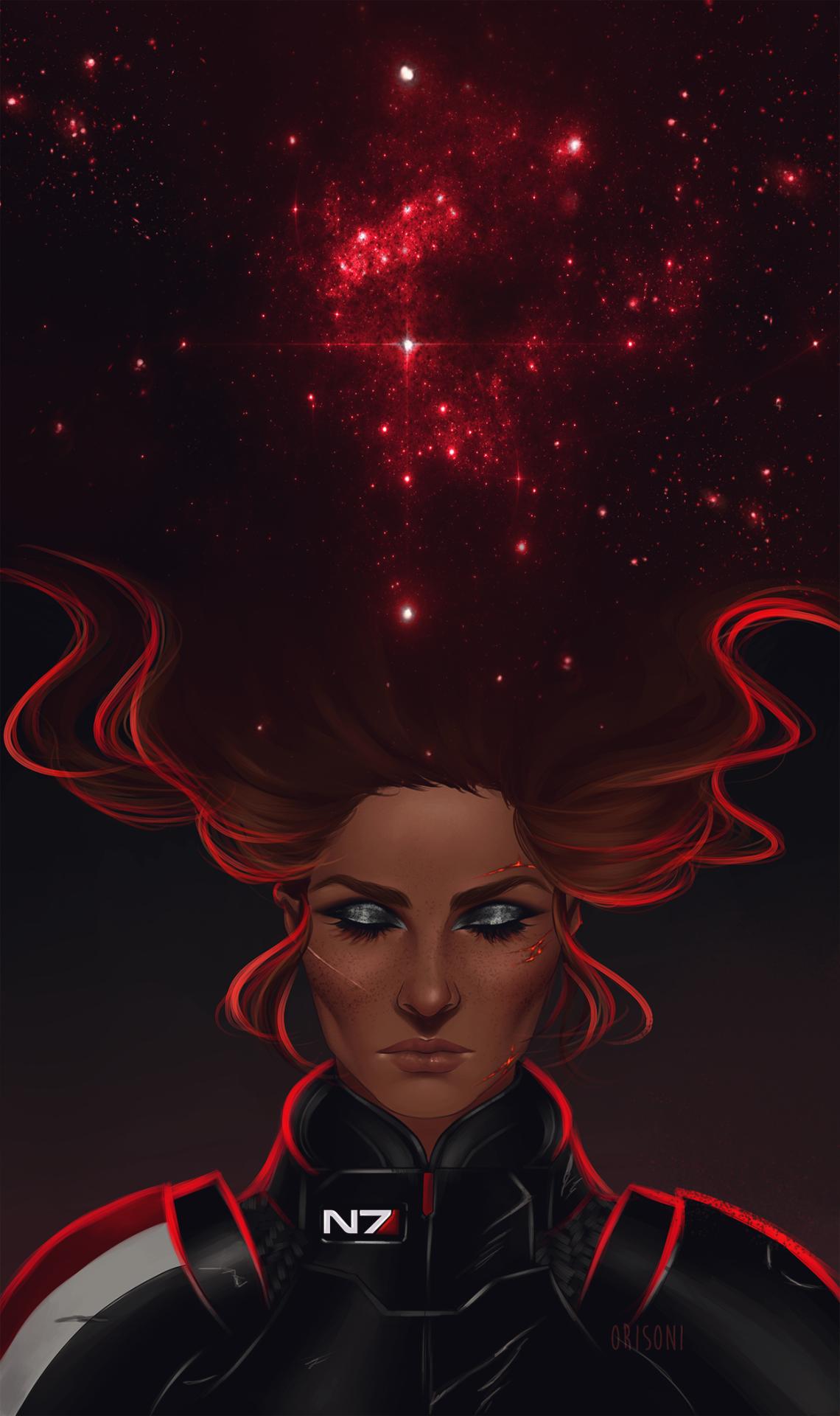 Orisoni Happy Birthday Commander Shepard Mass Effect