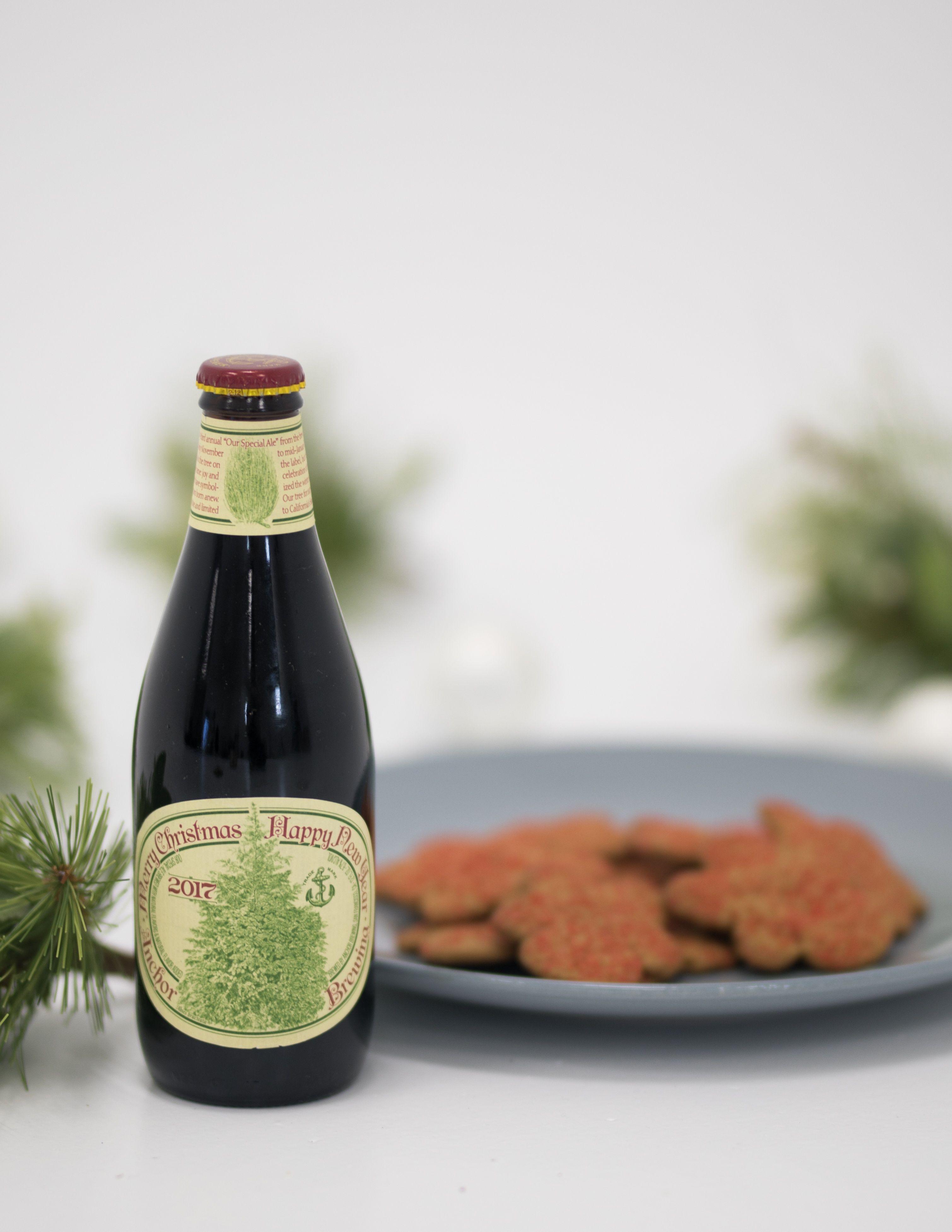 Anchor Steam Christmas Ale.Craft Beer Holiday Cookie Pairings Food Pairing