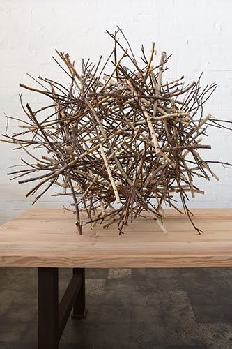 twig art by Mark Tuckey #twigart