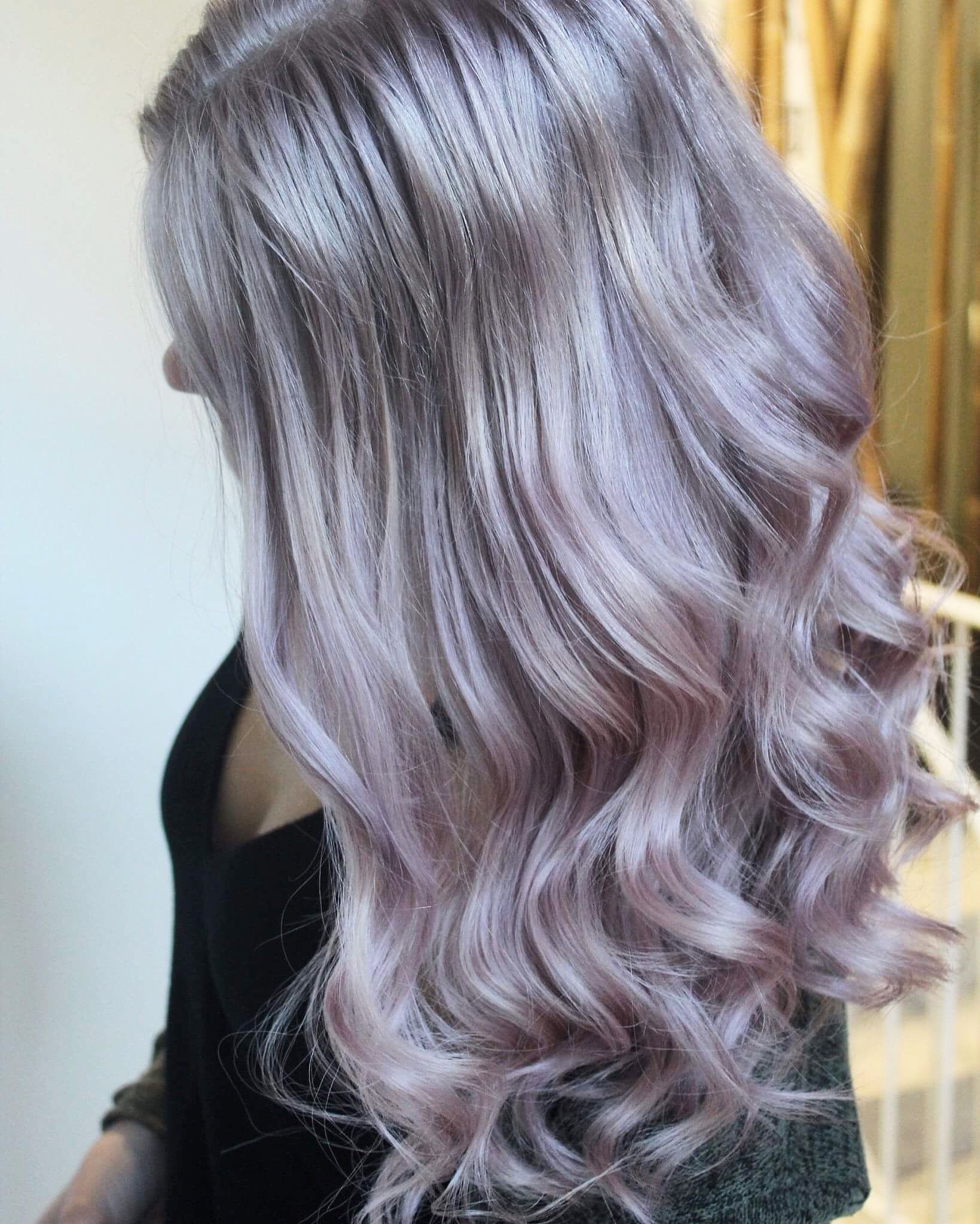 #hair #pastelhair #silverhair  Instagram:hairbyjessapple