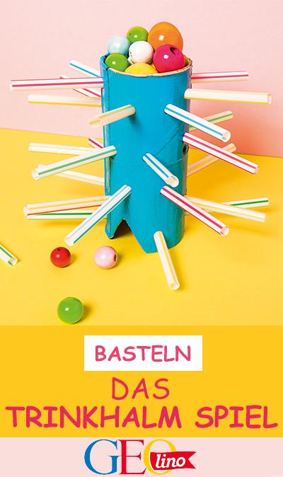 Photo of Basteln: Das Trinkhalm-Spiel