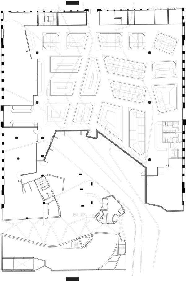 santa caterina market, miralles, market floor, plan Market - copy blueprint denver land use and transportation plan