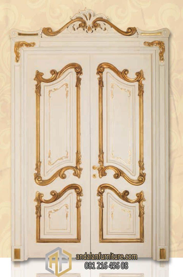 Pintu Utama Rumah Model Eropa Klasik Terpopuler | Pintu ...