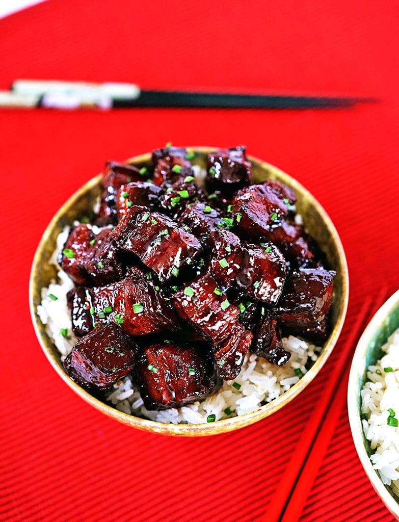 Szechuan Braised Pork Belly4   Pork   Pinterest   Braised pork, Pork ...