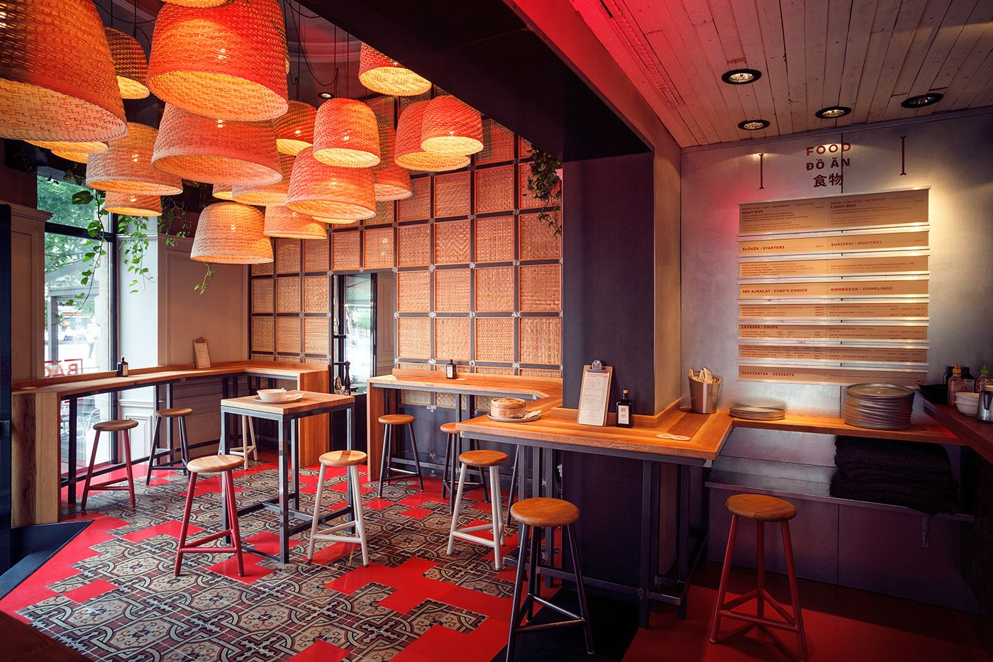Asian bistro restaurant concept