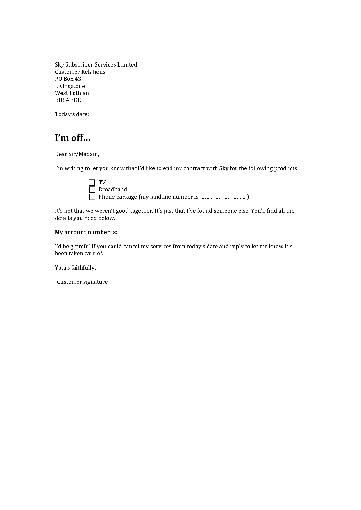 Cancellation Letter Format For Plot Notice Sample Allotment Refund