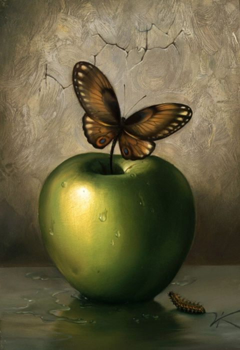 Green Apple @Vladimir_Kush