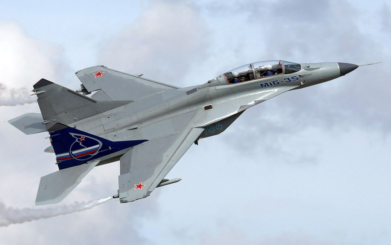 Mig 35 Russian Air Force Aircraft Jet
