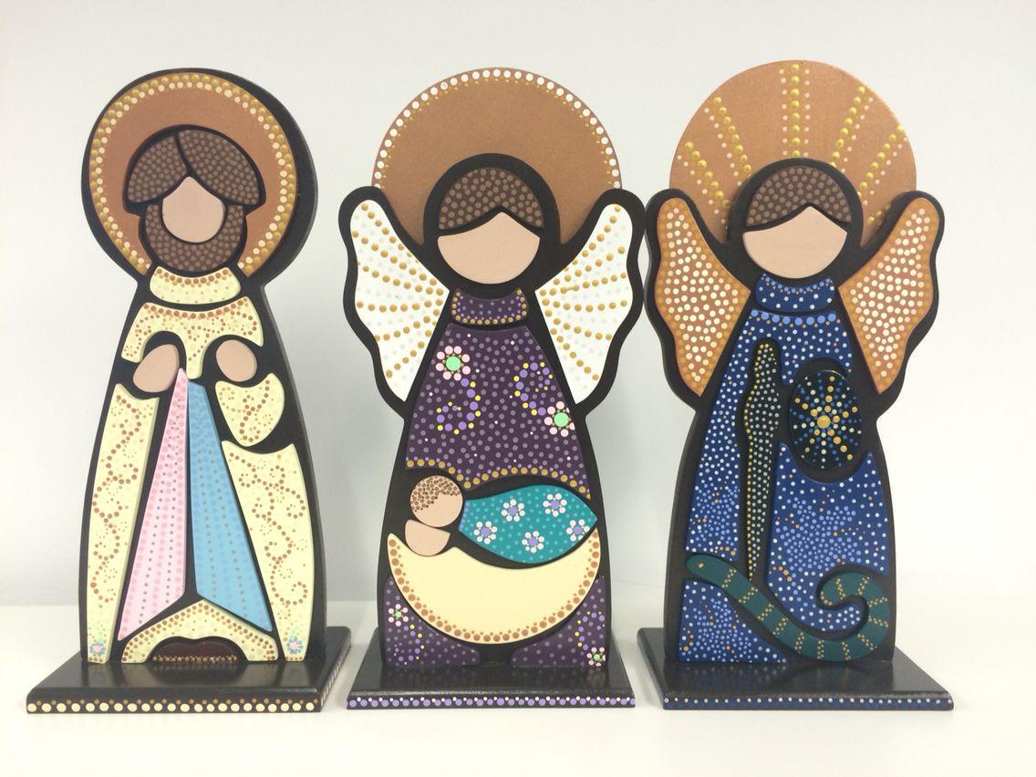 Angeles y Jesus de la Misericordia | Puntillismo - DomeDome ...