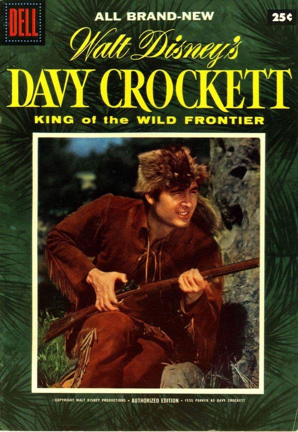 Fess Parker as Davy Crockett!