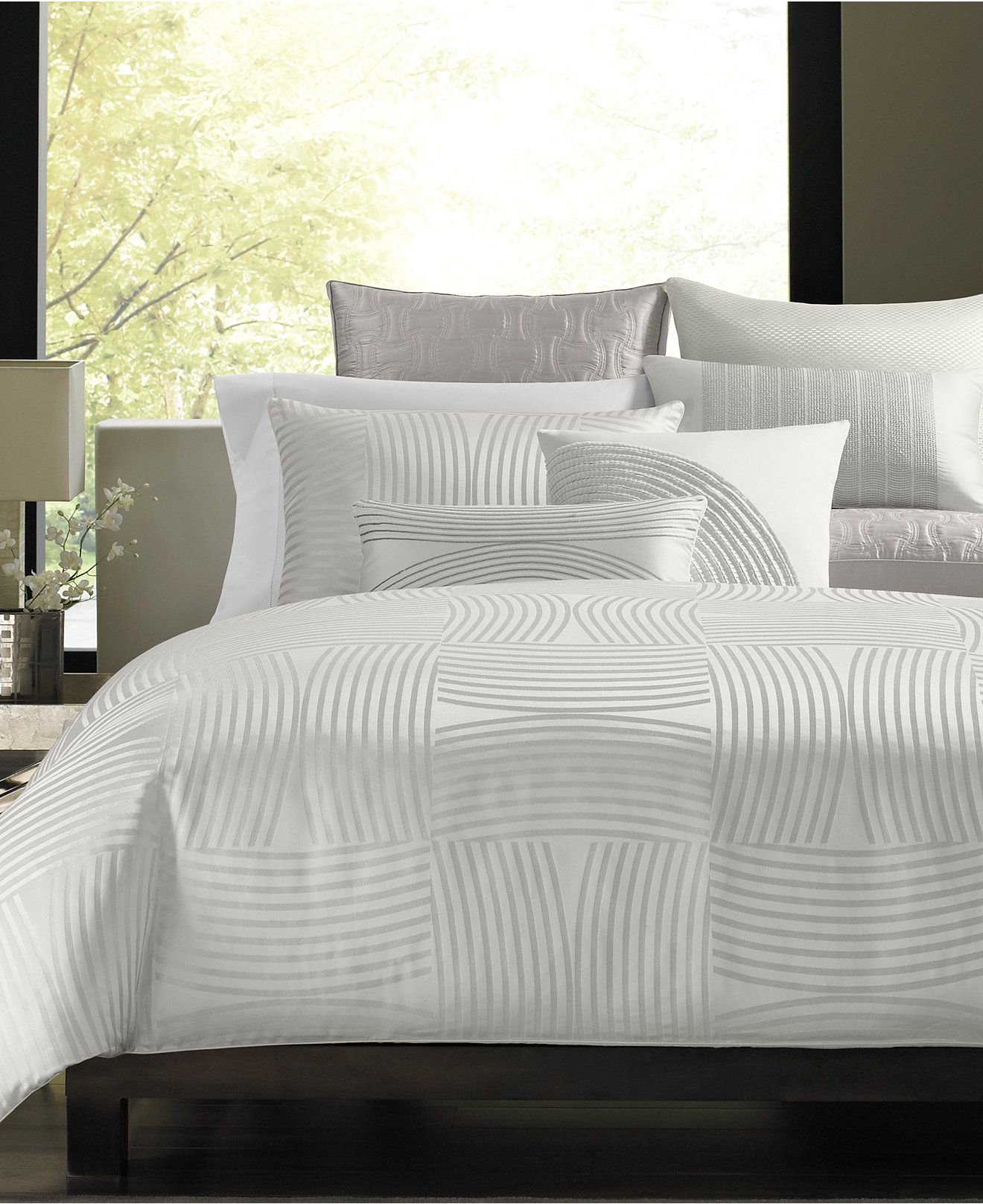 Hotel Collection Luminescent Bedding Collection  Bedding Collections  Bed