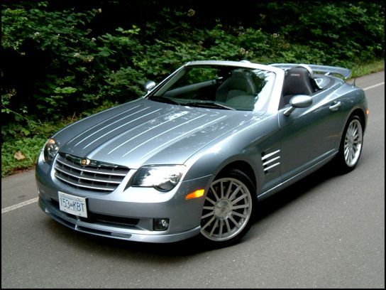 Chrysler Crossfire Srt6 Roadster Chrysler Crossfire Chrysler