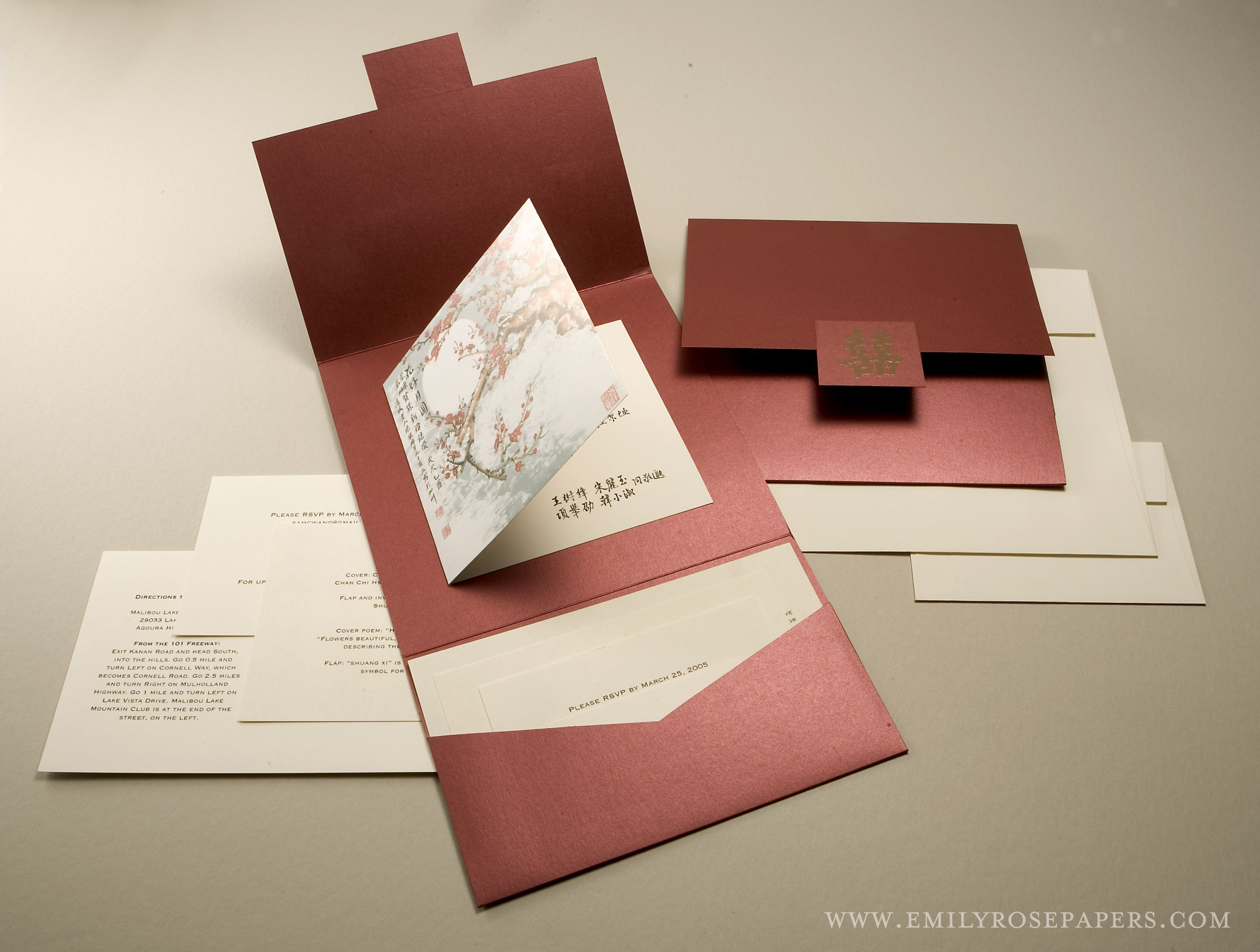 handmade #wedding #invitations #unique folds #pocket folds | Ideas ...