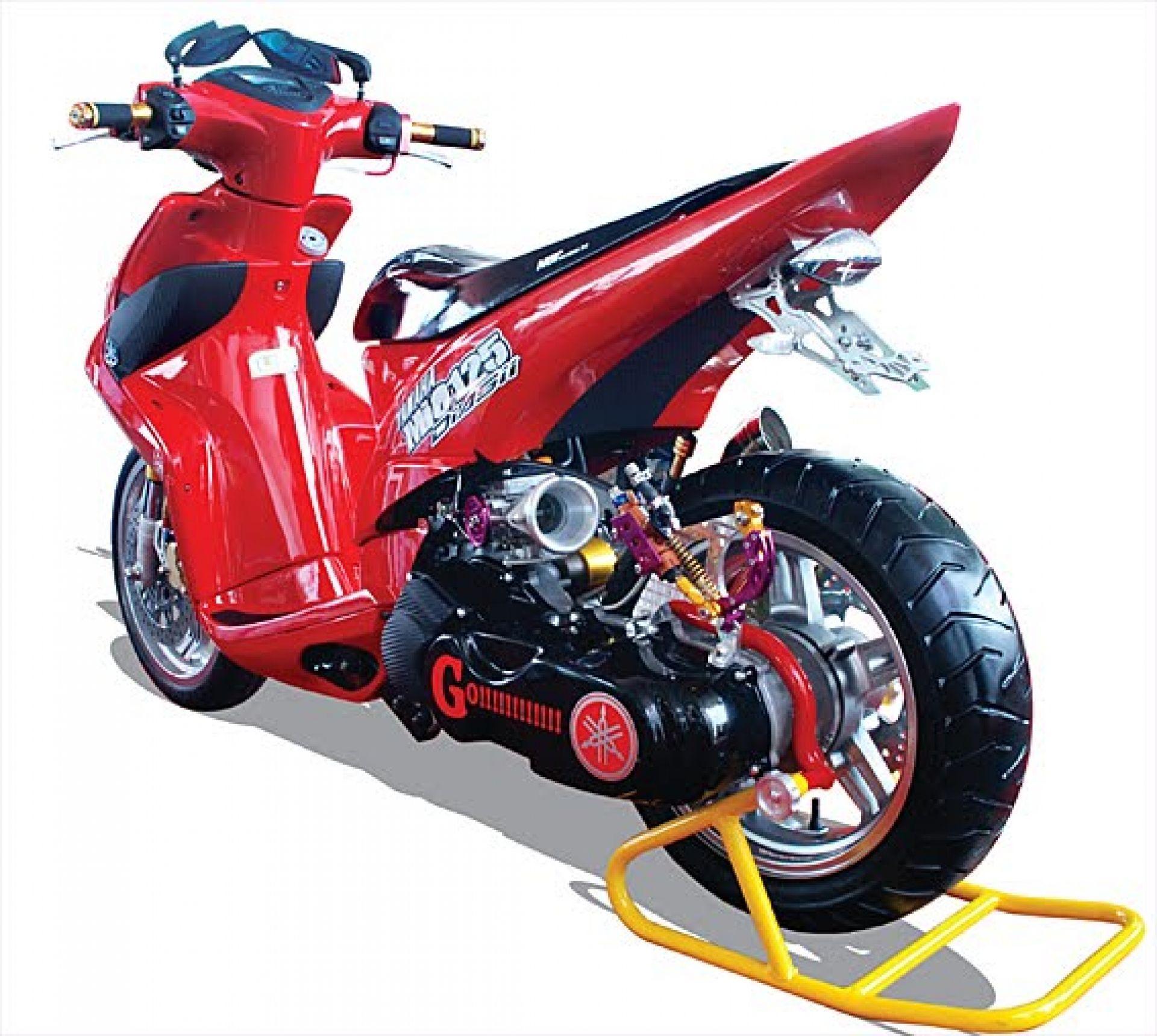 Kumpulan Modifikasi Motor Mio Im3 Terbaru Kampong Motor