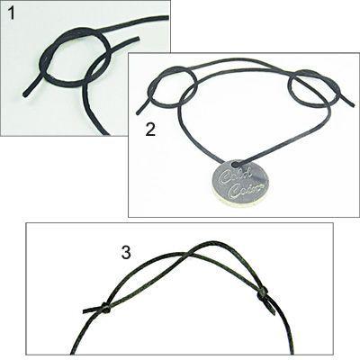 Photo of 25 + ›Black satin cord
