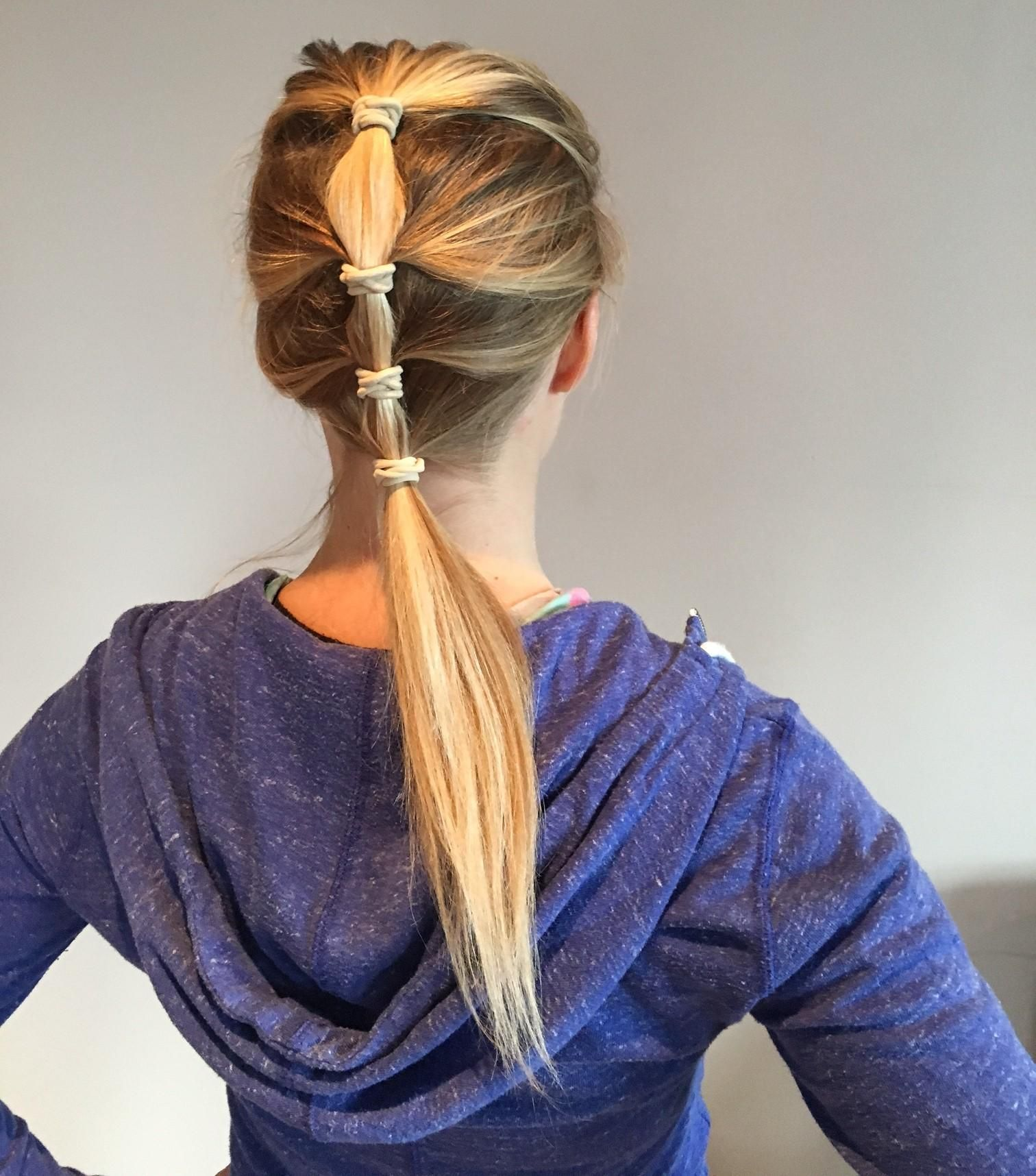 Hairstyles For Running And Triathlons Hair Styles Race Day Hair Find Hairstyles