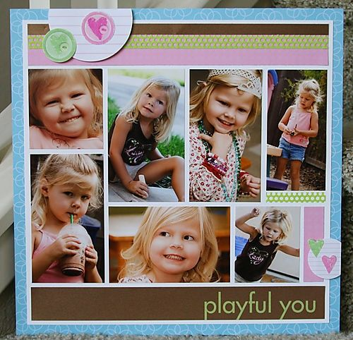 Playful You...7 photos on 1 page.:)