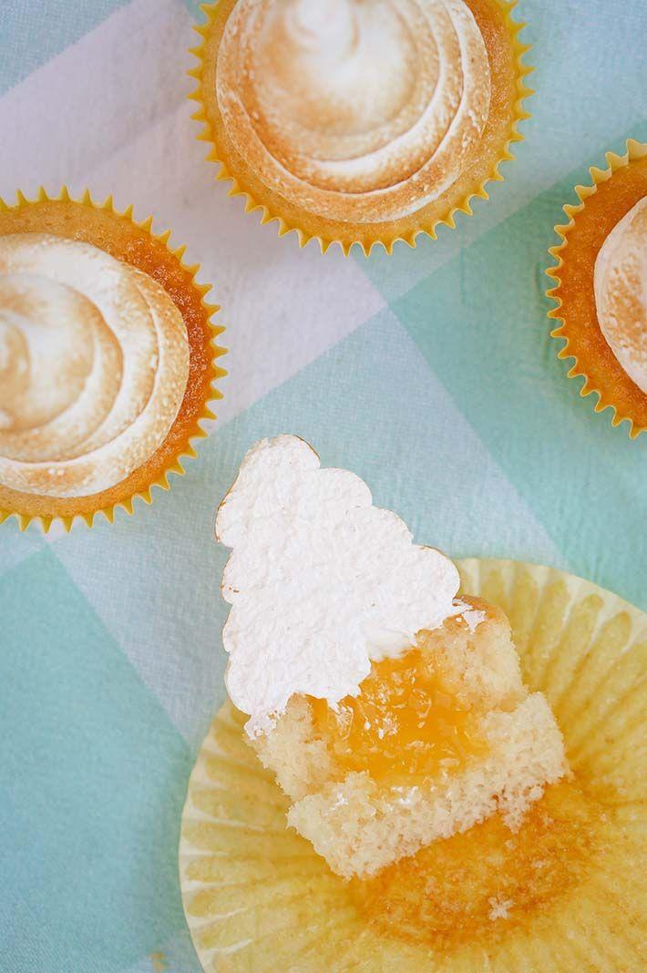 Citroen Meringue Cupcakes | een echt zomers gebakje! - Schepje Suiker