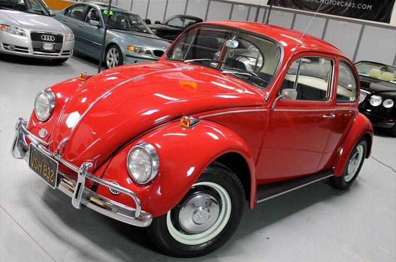Sold L456 Ruby Red 67 Beetle Vw Beetles Volkswagen Beetle Vintage Vw Beetle Classic