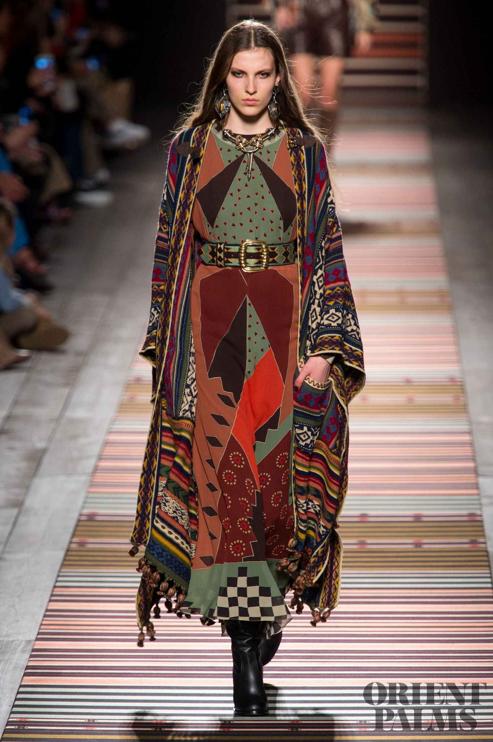 Etro FallWinter 2015-2019 Collection – Milan Fashion Week