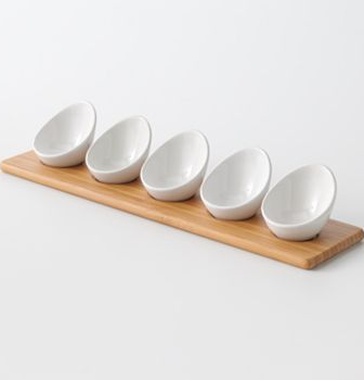 Food Network Mini Dip Bowl Set - Too Cute! : food network marshmallow dinnerware - pezcame.com