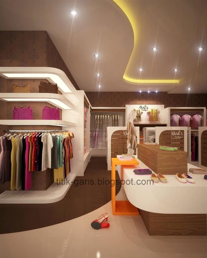Desain Interior Butik Minimalis Modern Interior Desain Interior