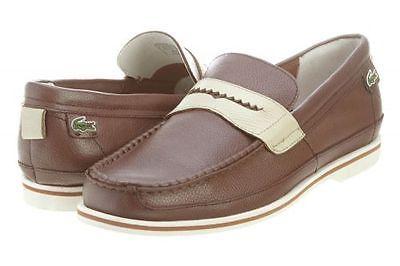 16a2845aadc12c LACOSTE IPSDEN MG MENS Mens 7-24LEM1250-078 BROWN Sneakers SZ-9 ...