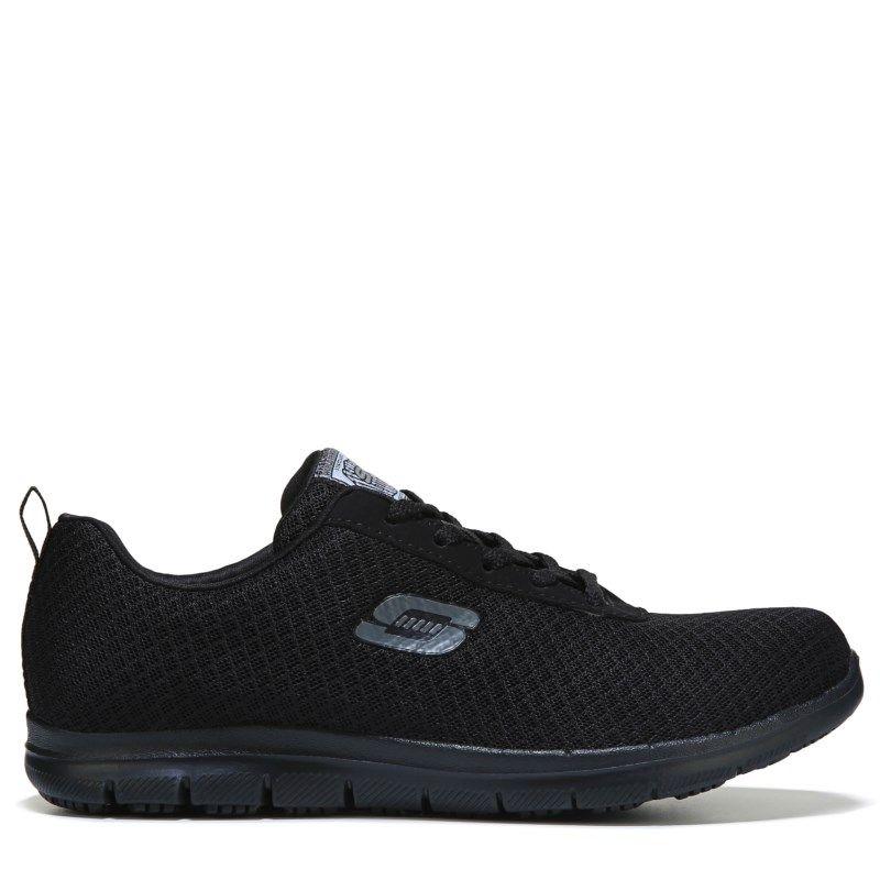Skechers Work Women's Bronahugh Wide Slip Resistant Shoes