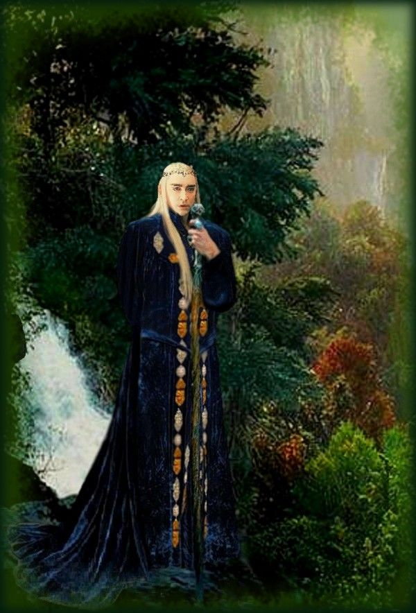 King Thranduil: We have to protect the Nature! by Ysydora