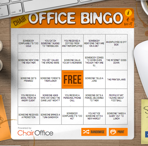 Bored at Work? We've Got the Game For You Customer