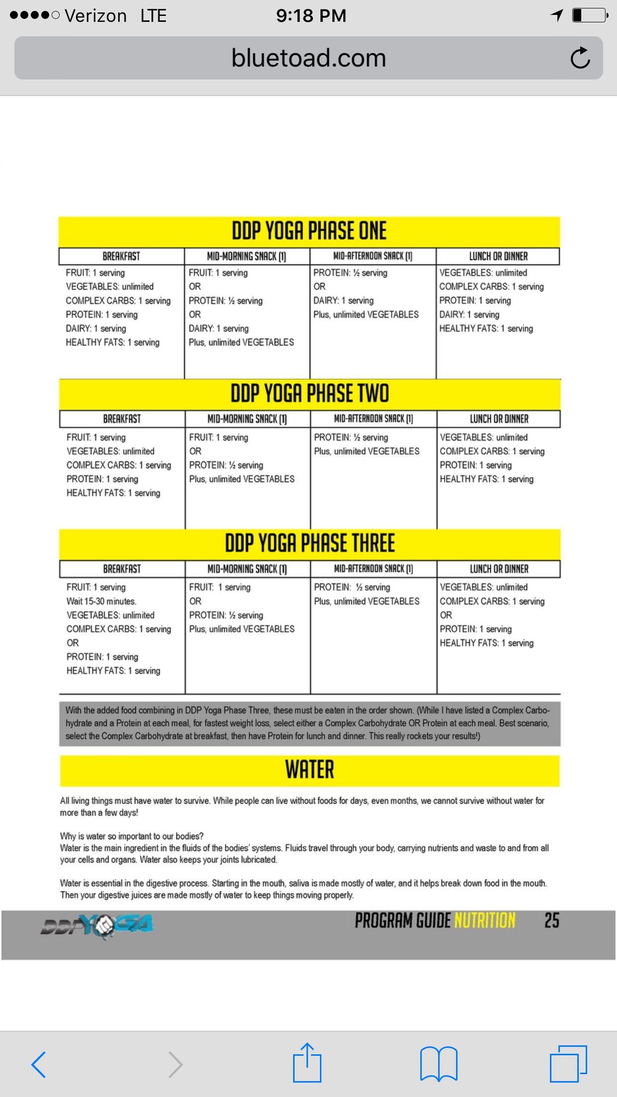 Ddp Yoga Beginner Schedule : beginner, schedule, Diet,, Yoga,