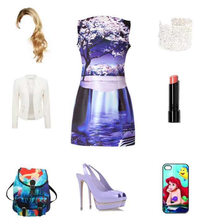 """""""Brianna's Outfit #33"""" by lewiscooke ❤ liked on Polyvore featuring Mary Katrantzou, Le Silla, Bobbi Brown Cosmetics, Natasha Collis, Disney and Forever New"""