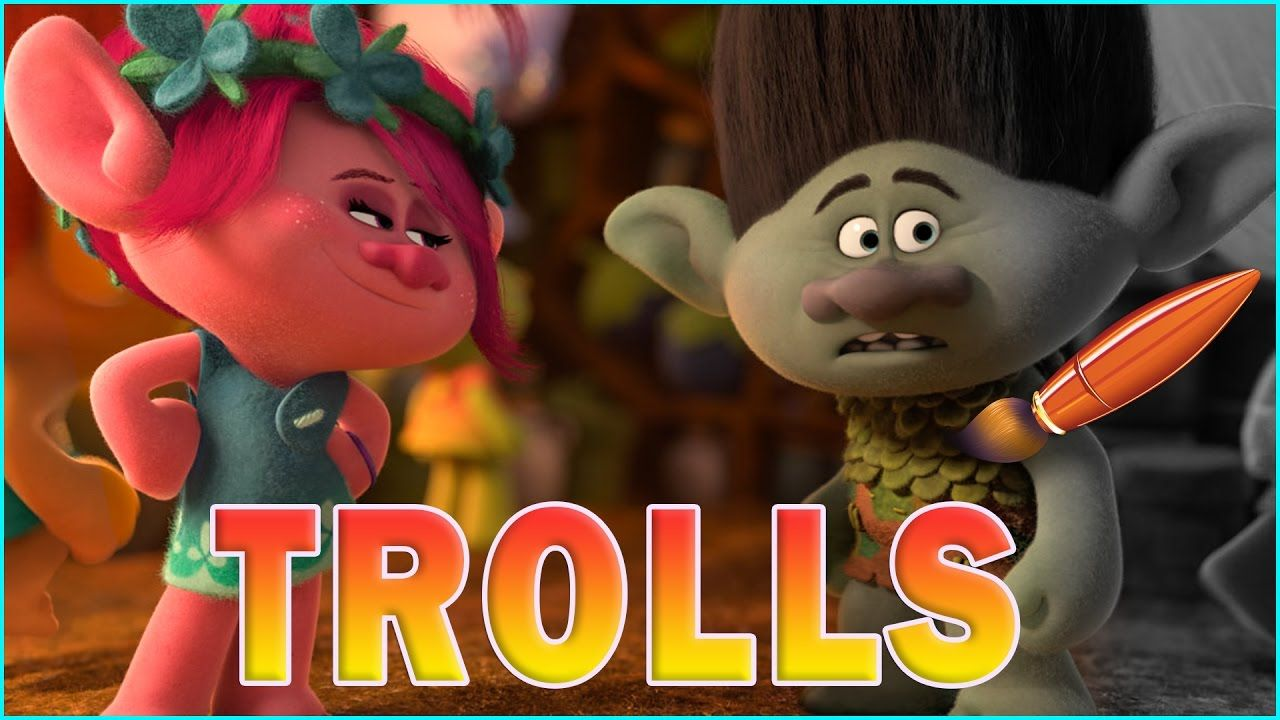 Coloring Pages Trolls : Trolls movie poppy and branch kids coloring book coloring