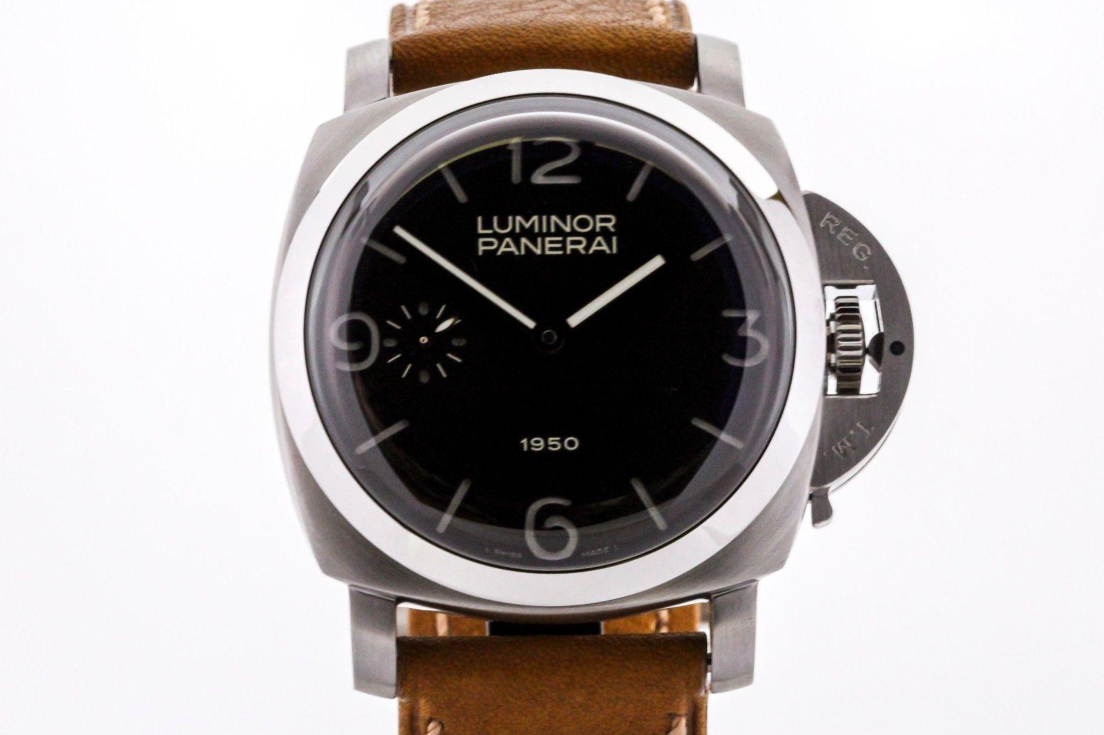 "Panerai Luminor 1950 ""Fiddy"" PAM 127 47mm Special Edition Watch"